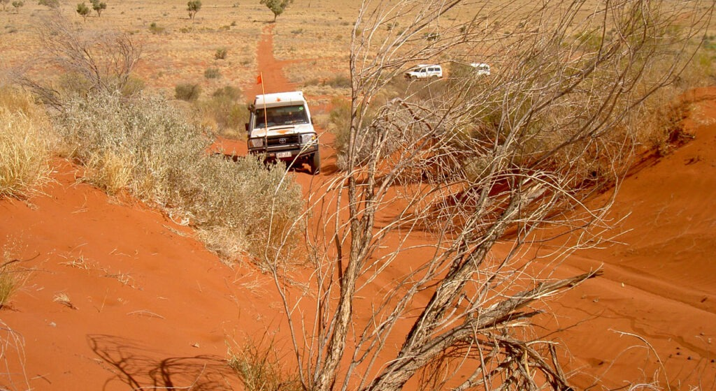 Canning Stock Route 4WD Tag Along Tours - An unforgettable sand dune experience