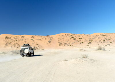 Tackling dunes in the Simpson Desert French Line