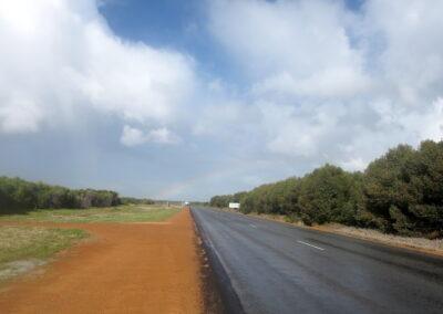 Auf em Weg nach Norden Great Northern Highway.