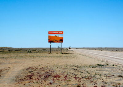 The Birdsville Track is a notable outback road