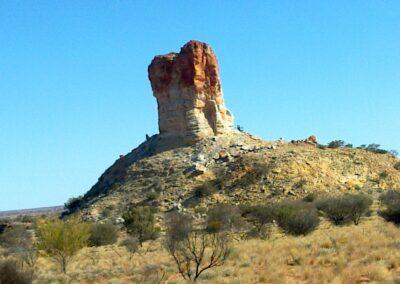 Around 340 million years Chambers Pillar - Northern Territory