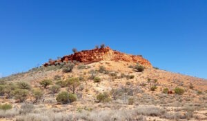 Mount Beadell, named after Len Beadell, the constructor of the famous Gunbarrel Highway