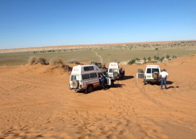 Simpson Desert - French Line | On top of the big Red
