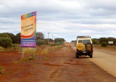 Back to civilisation after 9 days on the Gunbarrel Highway