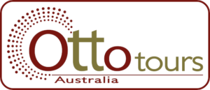Otto tours logo Australia mit Rahmen